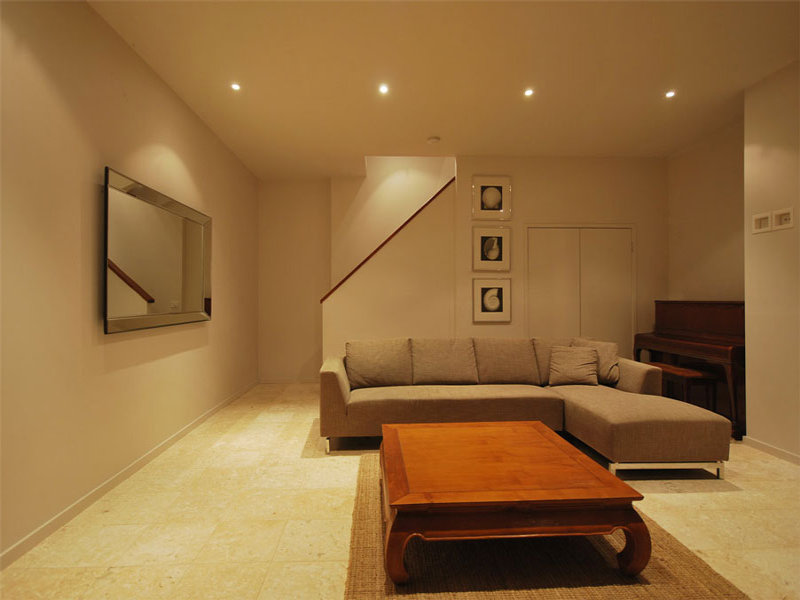 Brown living room idea from a real Australian home - Living Area photo 398003