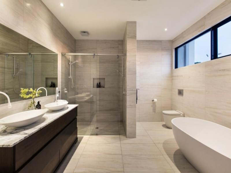 Photo of a bathroom design from a real australian house for Bathroom designs gallery