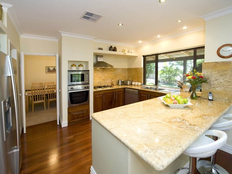 Modern U Shaped Kitchen Design u-shaped kitchen design using granite - kitchen photo 343681