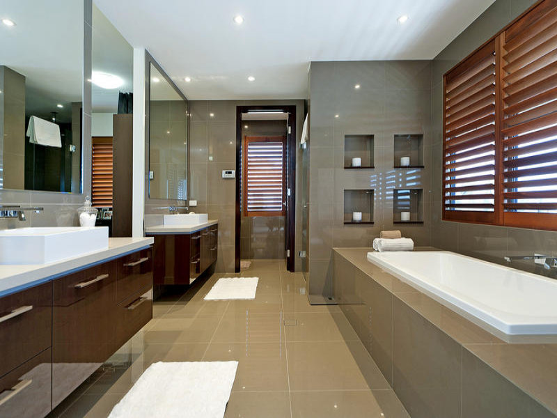 modern bathroom design recessed bath using ceramic ideas best - New Modern Bathroom Designs