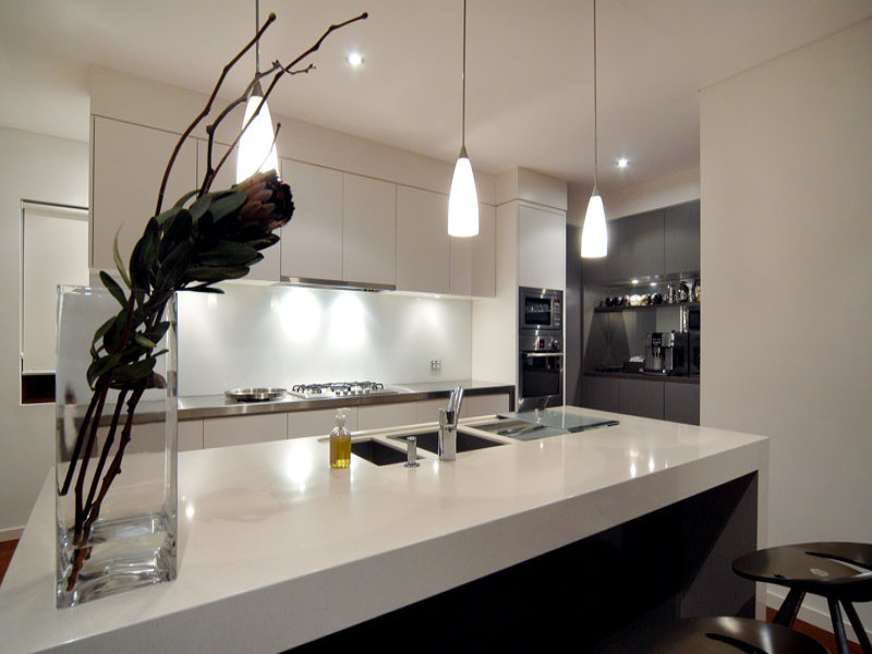 Decorative Lighting In A Kitchen Design From An Australian Home Kitchen Pho