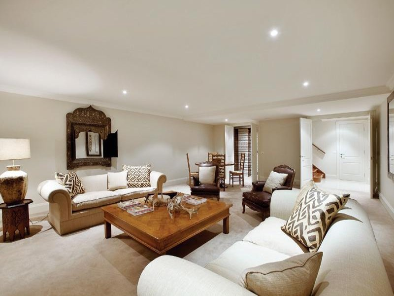 White living room idea from a real Australian home - Living Area photo 368554