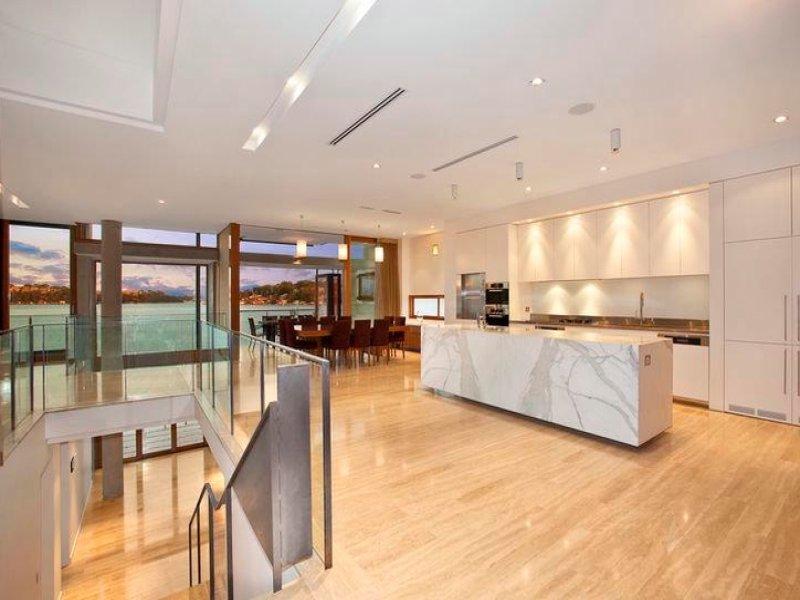 Modern Island Kitchen Design Using Floorboards Kitchen Photo 457251