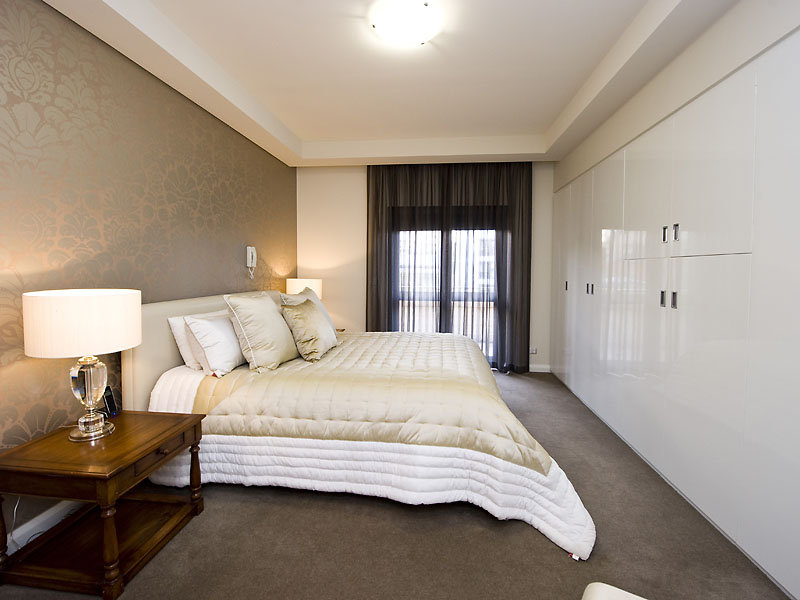 Beige bedroom design idea from a real australian home for Photos bedroom designs