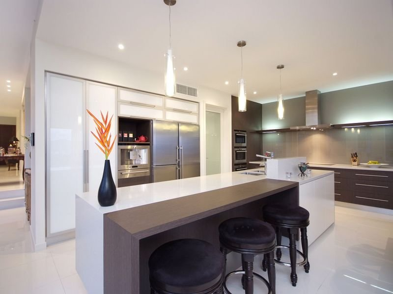 Modern Island Kitchen Designs island kitchen design using laminate - kitchen photo 271294