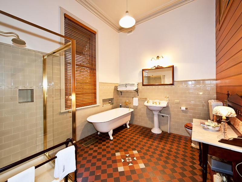 Period bathroom design with claw foot bath using tiles   Bathroom Photo 274942. bathroom design with claw foot bath using tiles   Bathroom Photo