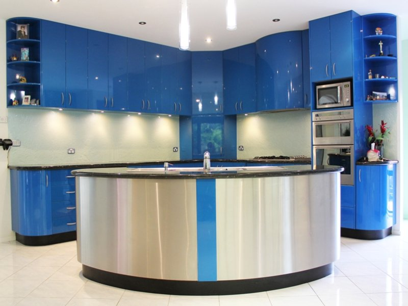 laminate in a kitchen design from an australian home