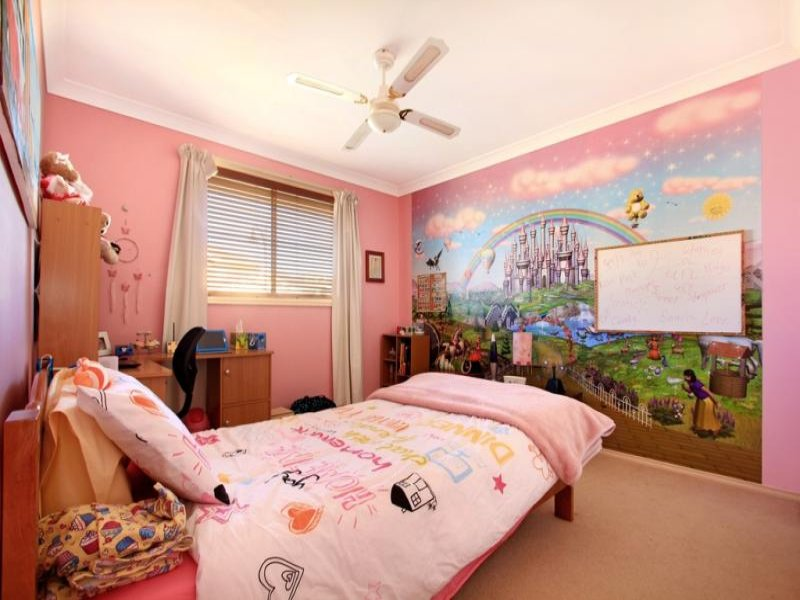 Pink bedroom design idea from a real australian home for Home bedroom design