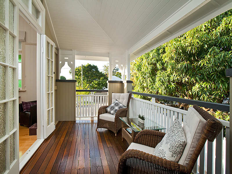 outdoor living design with verandah from a real australian home