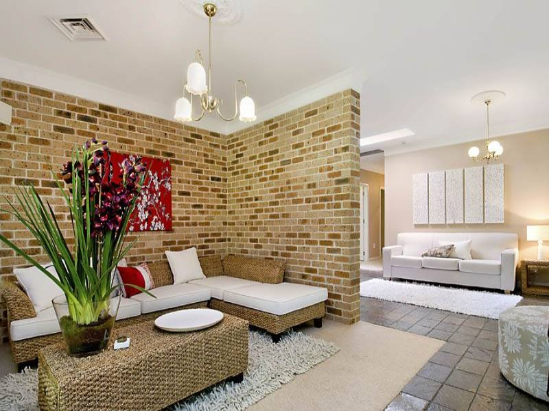 Brown living room idea from a real Australian home - Living Area photo 401100
