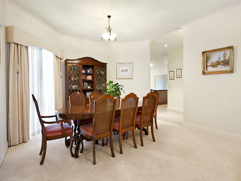 White dining room idea from a real Australian home - Dining Room photo 370670