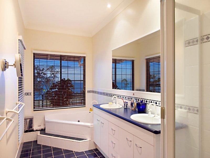 Modern Bathroom Design With Corner Bath Using Tiles Bathroom Photo 1498338