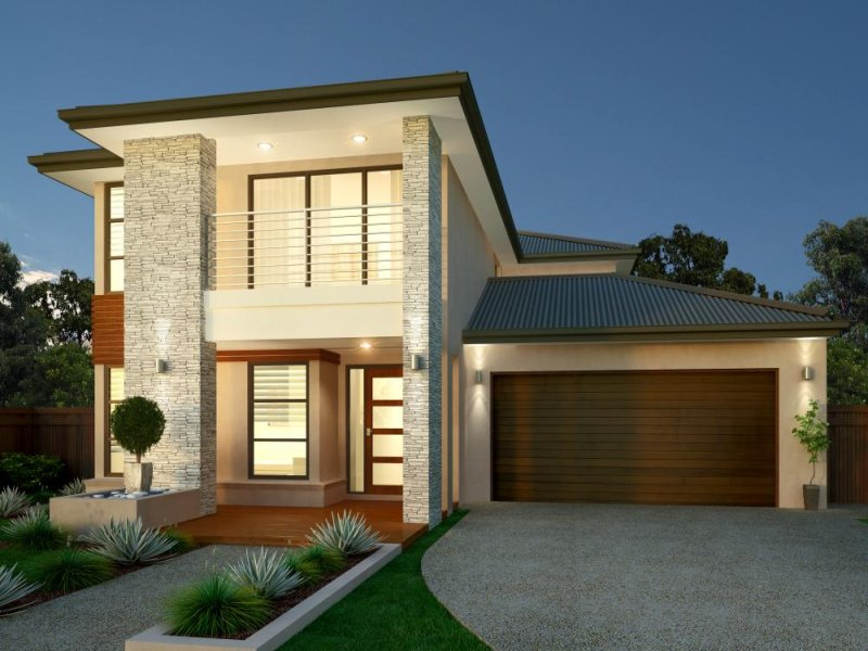 Photo Of A Brick House Exterior From Real Australian Home House Facade Photo 1341090