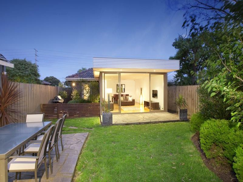 of a low maintenance garden design from a real Australian home