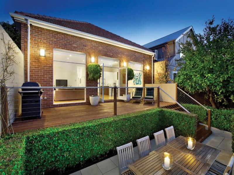 Multi Level Outdoor Living Design With Bbq Area U0026 Decorative Lighting Using  Brick   Outdoor Living Photo 330083