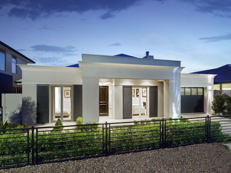 Modern Single Storey House Facades House Modern