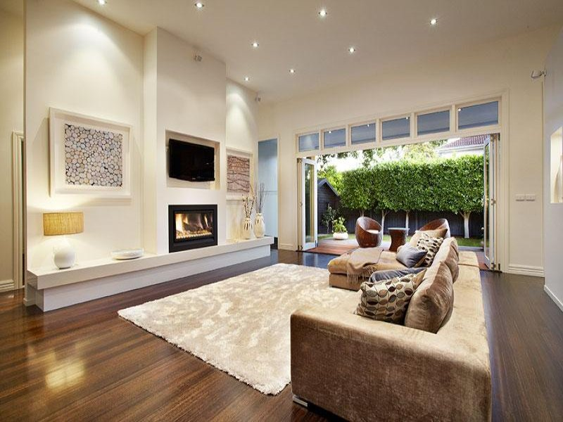Living Area Ideas Of Cream Living Room Idea From A Real Australian Home