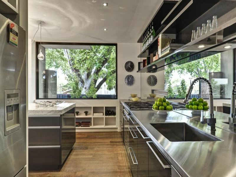 Modern Galley Kitchen Design small galley kitchen ideas: pictures & tips from hgtv | hgtv for