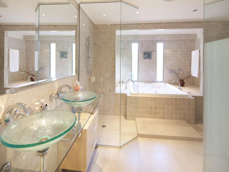 lavandini bagno trasparenti