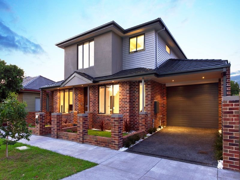 Photo Of A Brick House Exterior From Real Australian Home House Facade Phot