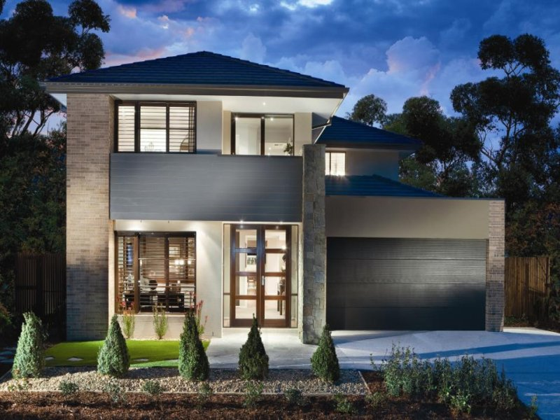 Photo of a house exterior design from a real australian for Exterior house facade ideas