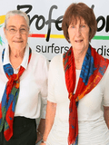 Patty Sinnamon and Adele Drennan, Professionals  - Surfers Paradise