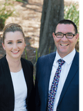Tim Heffernan and Ashleigh Hamilton, Arena Property Agents - UPPER MOUNT GRAVATT