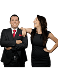 Adam and Danii Leatherbarrow, The Property Co. Realty - PENRITH