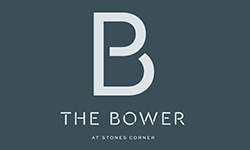 THE BOWER @ Stones Corner Logo
