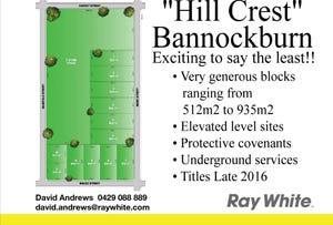 Lot 1 HILL CREST ESTATE, Bannockburn, Vic 3331