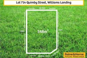 Lot 714 Quimby Street, Williams Landing, Vic 3027