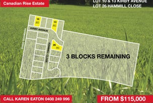 Lot 10,13 & 26, Kirby Ave & Hammill Close, Canadian, Vic 3350