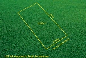 Lot 65 Naracoorte Road, Bordertown, SA 5268