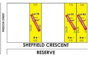Lots /78 81 &  82 Sheffield Crescent, Blair Athol, SA 5084