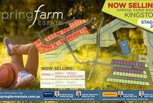 Spring Farm Estate, Kingston, Tas 7050