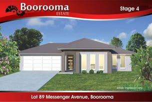 95 (Lot 89) Messenger Avenue, Boorooma, NSW 2650