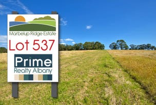 Lot 537, Berrima Road, Marbelup, WA 6330
