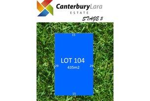 Lot 104  Canterbury Lara Estate, Lara, Vic 3212