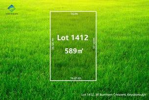 Lot 1412, 36 Burnham Crescent, Keysborough, Vic 3173
