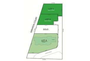 Lot 1 & 2, 4 Abbaron Court, Aberfoyle Park, SA 5159