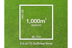 5 (Lot 17) Gulfview Drive, Tickera, SA 5555