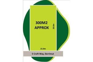5 Croft Way, Derrimut, Vic 3030