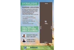 Lot 10 Hayman Road, Lewiston, SA 5501