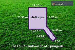 25 (Lot 17) Moishe Circuit, Springvale, Vic 3171
