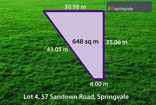 1A (Lot 4) Merton Street, Springvale, Vic 3171