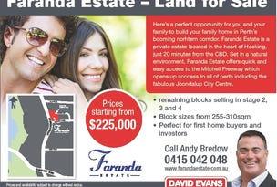 Lot 62 Faranda Estate, Hocking, WA 6065