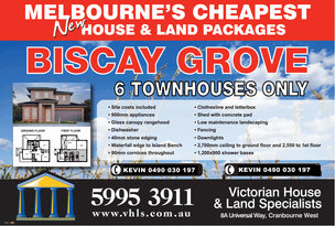 Lot 3 BISCAY GROVE, Lyndhurst, Vic 3975