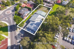2 Francis Crescent, Ferntree Gully, Vic 3156