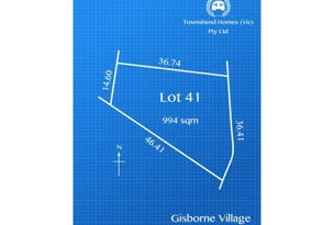 Lot 41, The Boomerang, Gisborne, Vic 3437