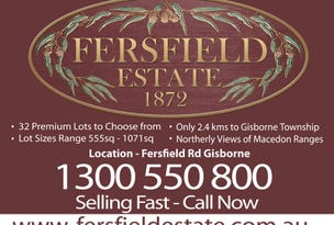 Gisborne, address available on request